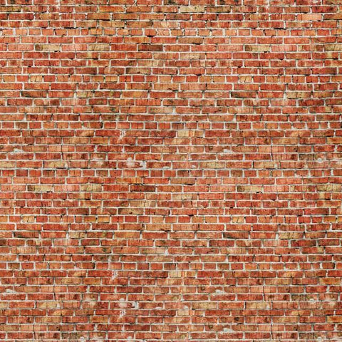 Red Brick Mural Pattern