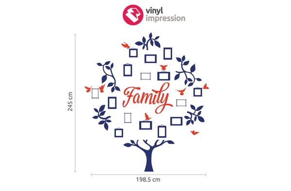 Family Tree in Popular by Vinyl Impression