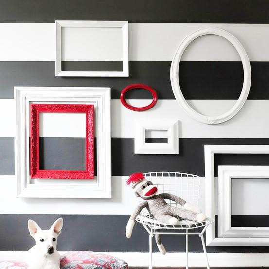 stripes wall sticker vinyl impression stripe alphabet wall stickers by mirrorin