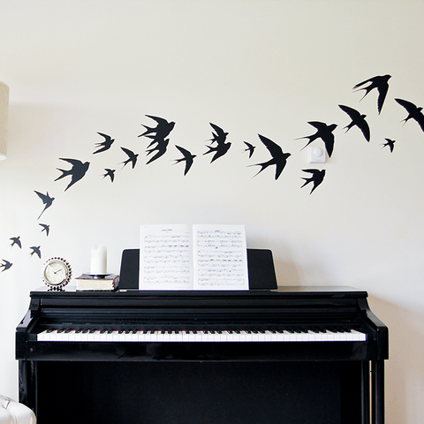 Removable bird wall stickers for your home