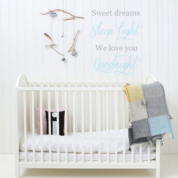 Sweet Dreams Wall Decal in  by Vinyl Impression