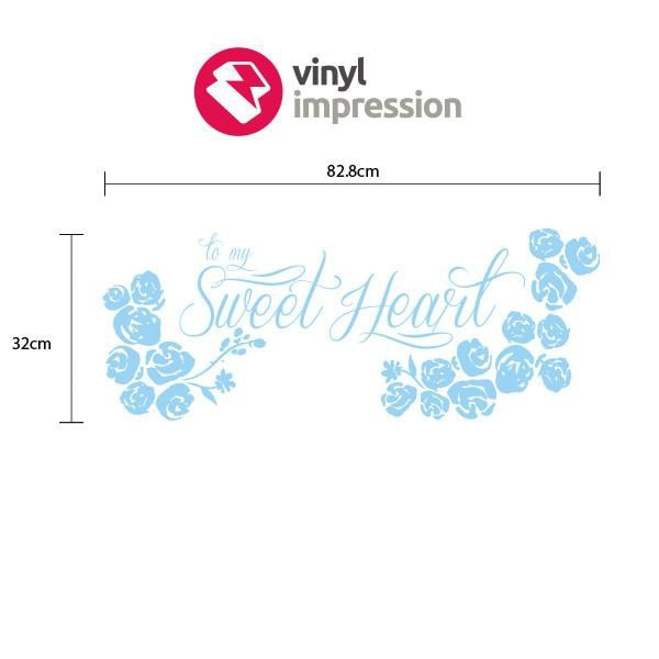 Sweetheart in  by Vinyl Impression