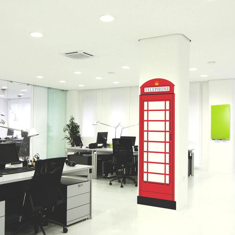 British telephone box mockup square 2