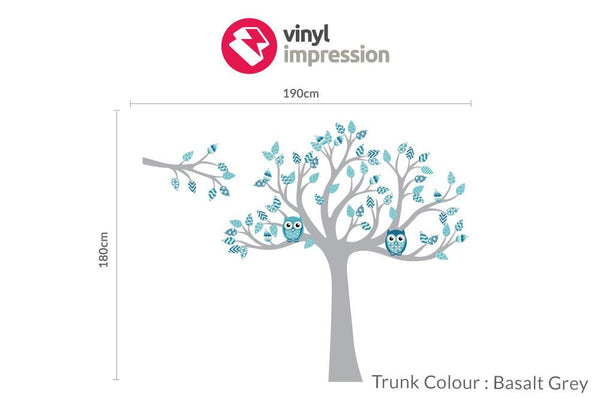 Tree with pattern leaves -Nautical in Featured Products by Vinyl Impression