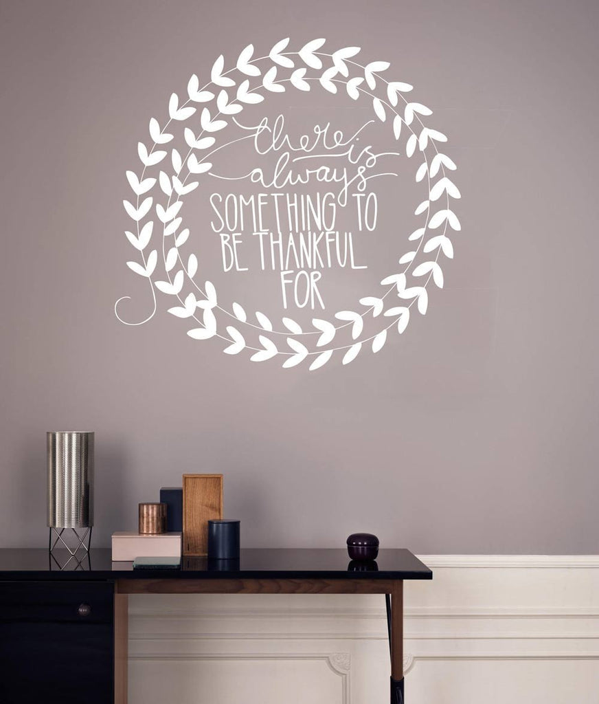 Thankful Wall Sticker Vinyl Impression