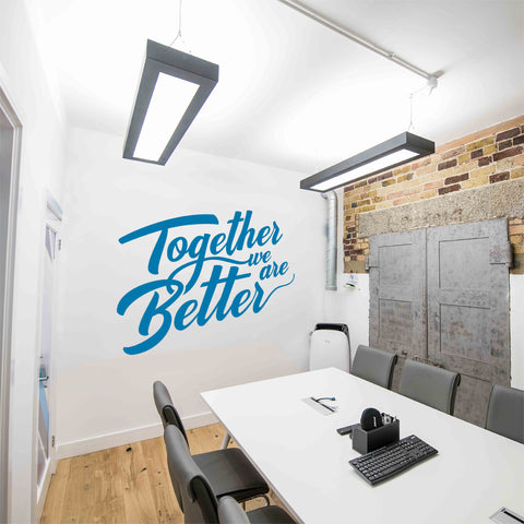 Together We Are Better Wall Sticker