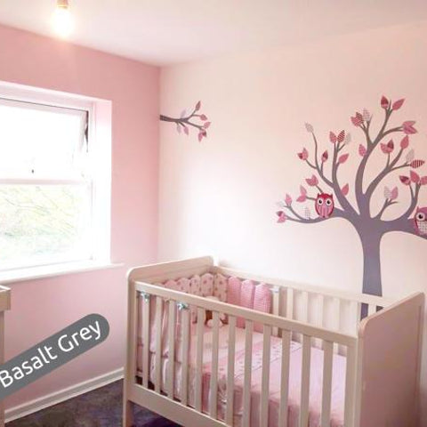 Customer picture of a tree nursery wall sticker