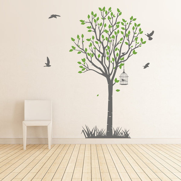 Life size tree wall sticker in Nature by Vinyl Impression