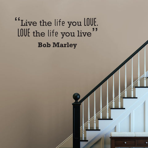 Music artist wall quote for bedroom for removable wall art