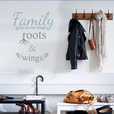 Family gives us' vinyl wall sticker in  by Vinyl Impression