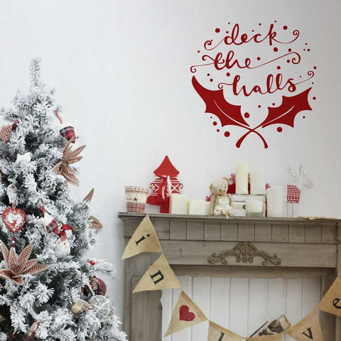 Christmas decoration wall stickers for interior design