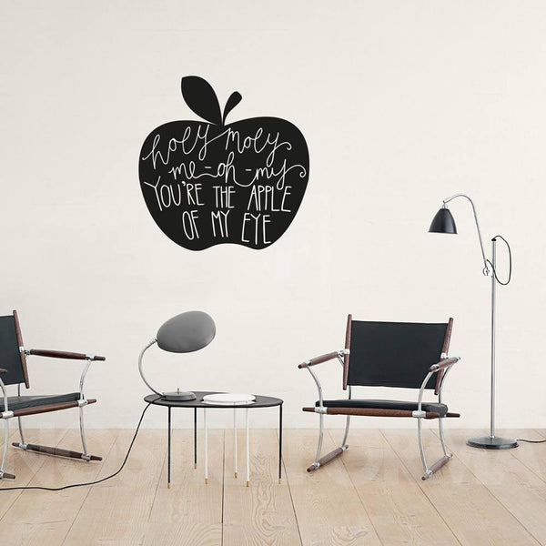 Holy Moly wall decal in Love by Vinyl Impression