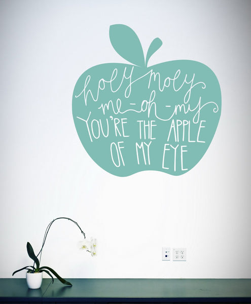 Holy Moly wall decal in  by Vinyl Impression