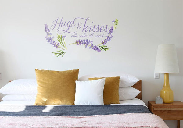 Hugs & Kisses Printed in Home by Vinyl Impression