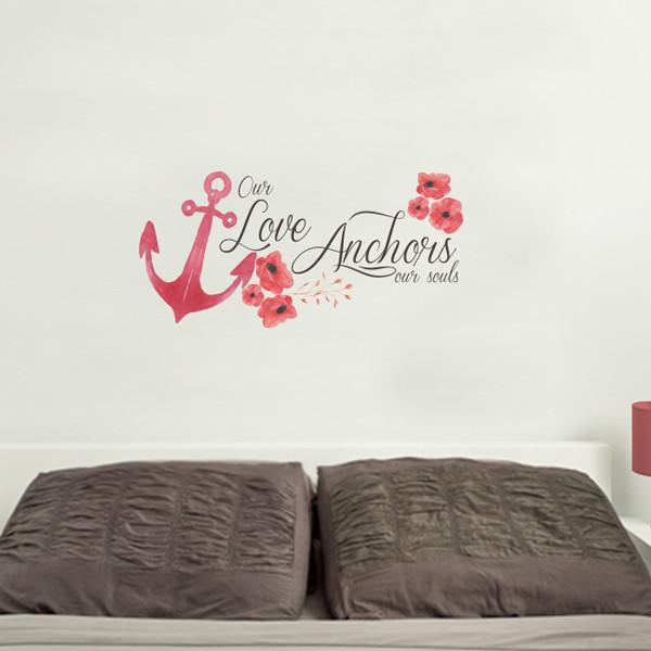 Love Anchor Printed in Love by Vinyl Impression