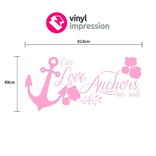 Love Anchor in  by Vinyl Impression