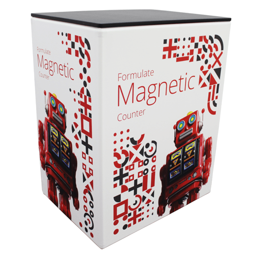 Double Magnetic Counter (HIRE & PRINT) in  by Vinyl Impression