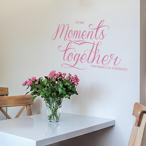 Moments together mockup in a kitchen - square crop