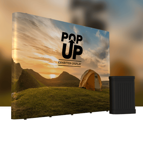 Pop-up Banner Straight