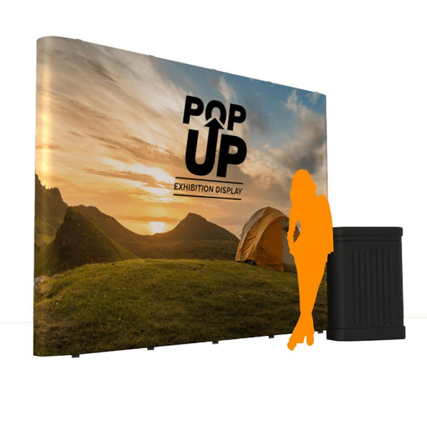 Pop-up Banner Straight in  by Vinyl Impression