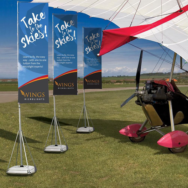 Wind Dancer Outdoor Flag in  by Vinyl Impression