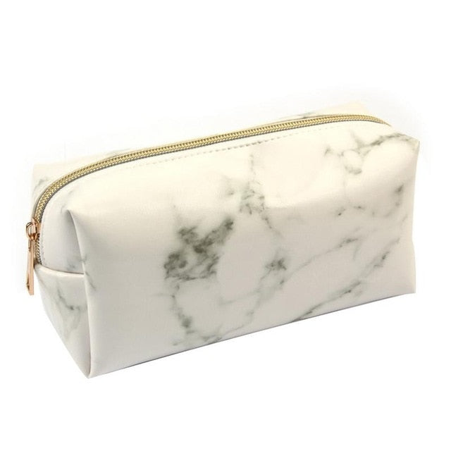 Marble Brush Bag