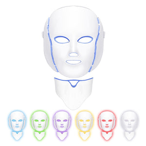 7 Color LED Face & Neck Mask