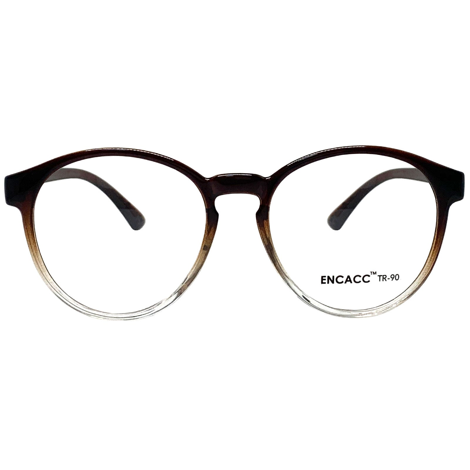 Oversize Big Round Eye Glasses Horn Rimmed Eye wear Frame TR90 Non Prescription