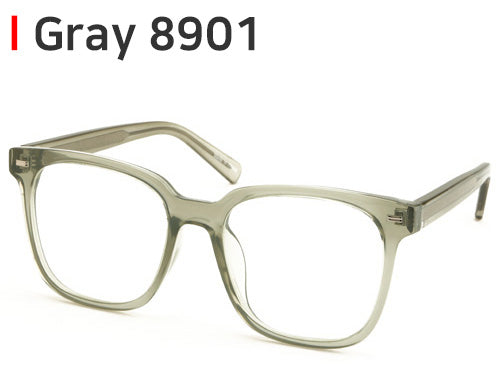 ENCACC Nerd Geek Oversize Eye Glasses Horn Rim Framed Clear Lens Spectacles 8901