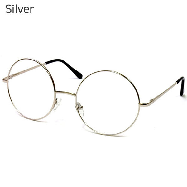 ENCACC Round Metal Frame Blue Light Blocking Glasses for Women Non-Prescription Eyeglasses Frames with Clear Lens - ENCACC