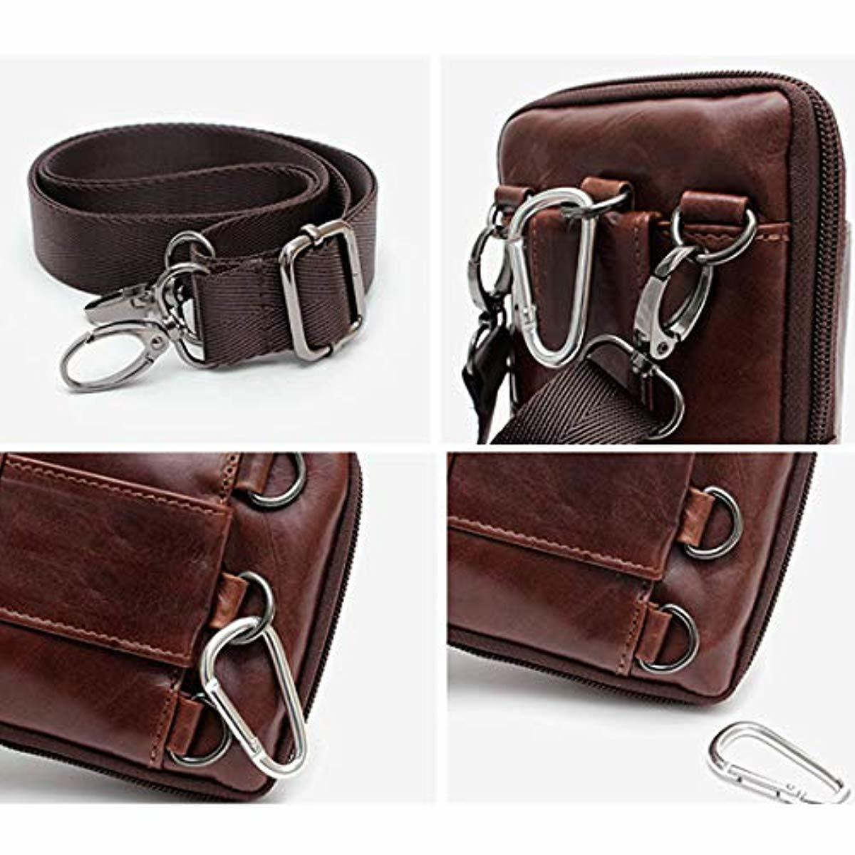 Waist Pack Travel Leather Messenger Bag Cellphone Phone Cases Pouch Holsters 92691 - ENCACC