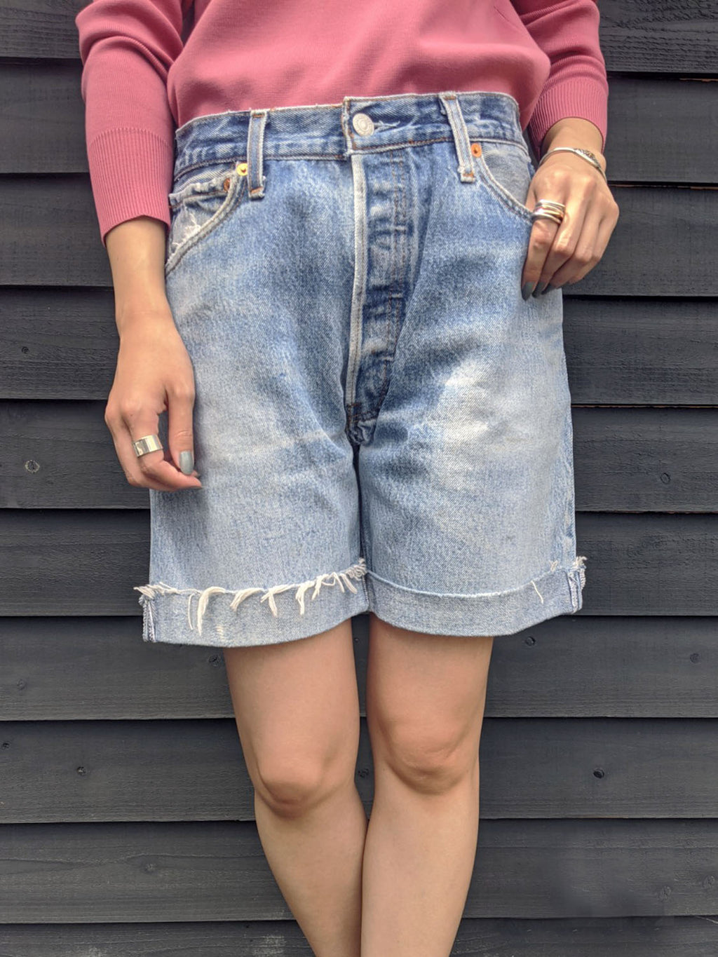 RE/DONE 90s RELAXED SHORT