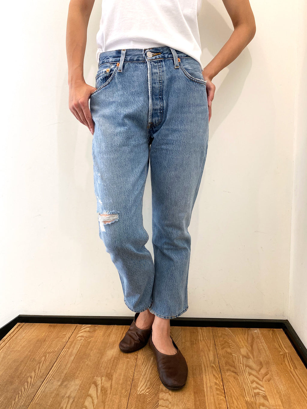 RE/DONE HIGHRISE CROP 26INSEAM