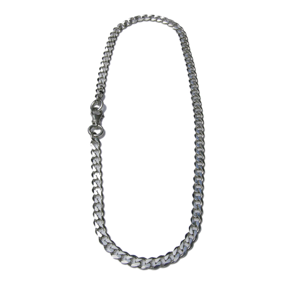 Chunky 'Curb' Chain Necklace