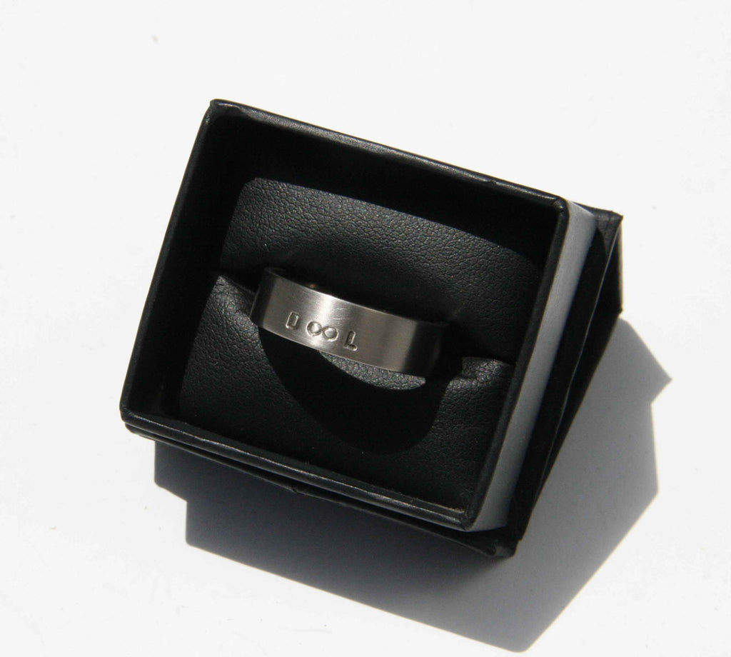 Initialed wedding band