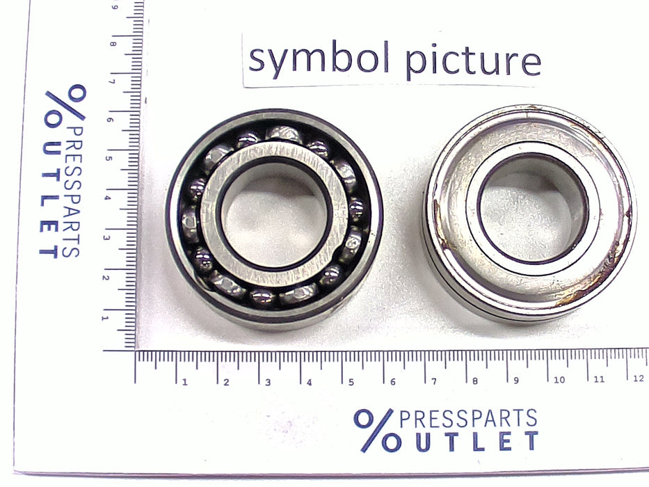 Angular contact ball bearing 30/8-2RS - ZD.200-367-05-00 - Schrägkugellager 30/8-2RS