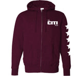 # FAMILY FIRST Logo Pullover Maroon