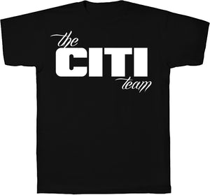 Citi Team  Logo Tee Black