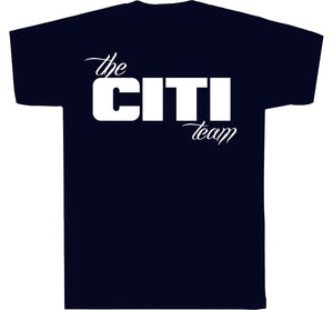 Citi Team  Logo Tee Navy