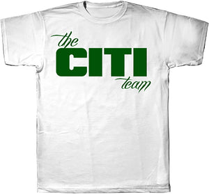 Citi Team  Logo Tee White