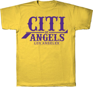 Citi Of Angels Logo Tee Yellow