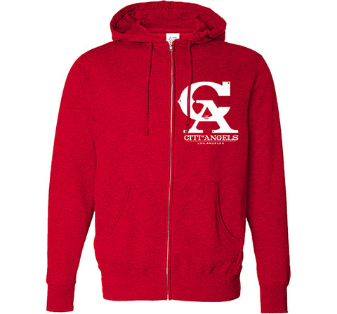Citi Of Angels Pullover Red