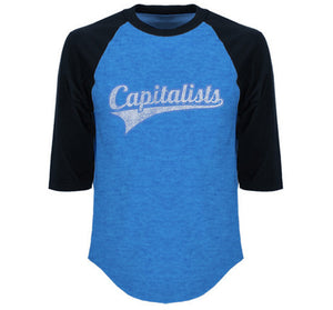The Heights Capitalists Baseball Raglan