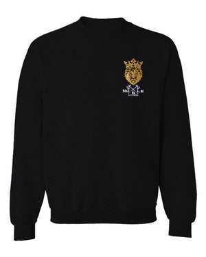 Noble Clothing Crewneck Sweatshirt in Black