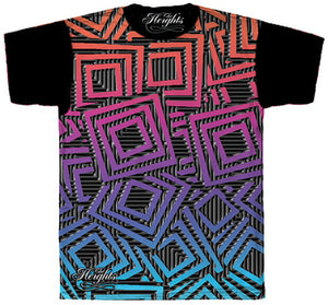 The Heights Squares Tee