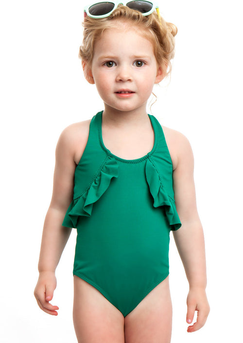 Ellie One Piece Swimsuit Emerald