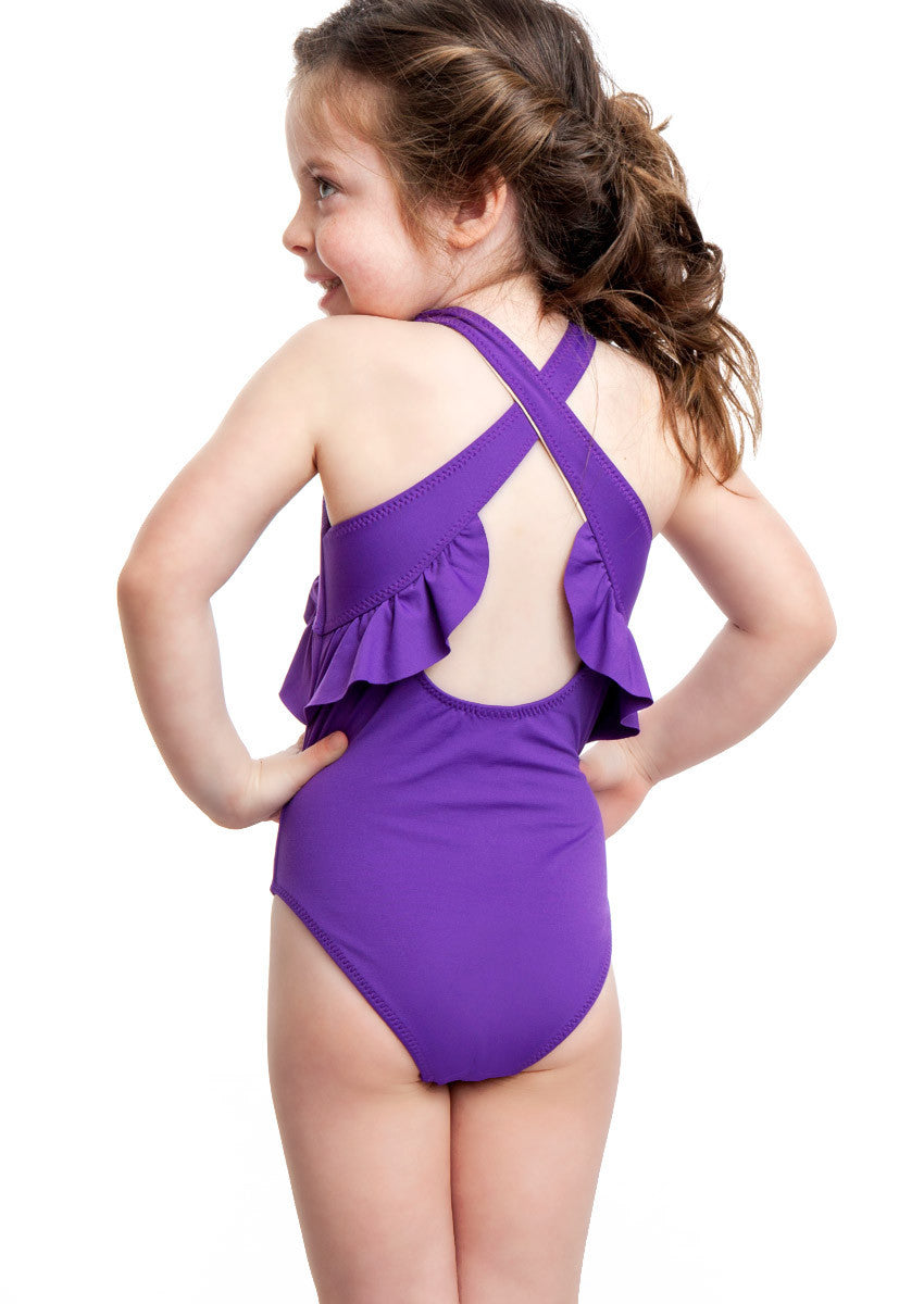 Sweetie Swim Ellie One Pc Swimsuit Iris