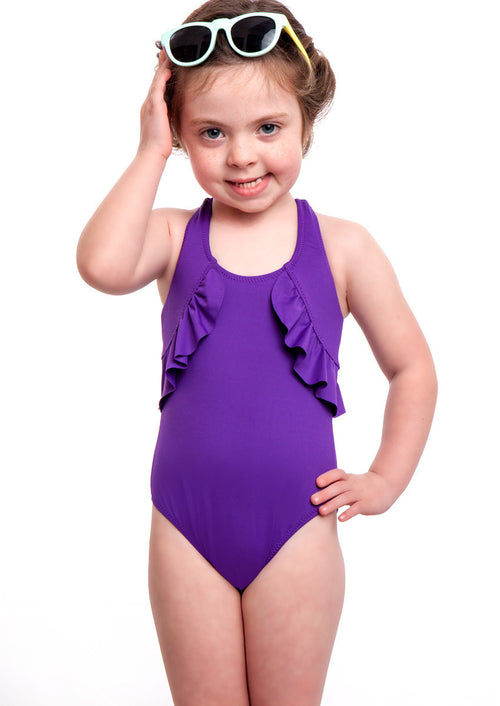 Ellie One Piece Swimsuit Iris