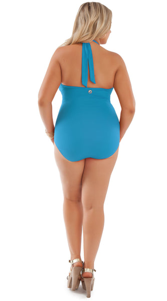 Marilyn One Piece Swimsuit Caribe