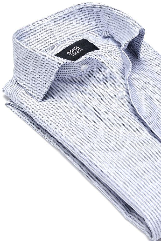 Pilot (BC) Shirt - Grey Stripe